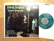 """CAPITOL 7"""" 45 RECORD EAP 1-488/FRANK SINATRA /SONGS FOR YOUNG LOVERS/ EX"""