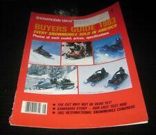 Vintage Snowmobile west buyers guide 1982 arctic cat ski doo polaris yamaha