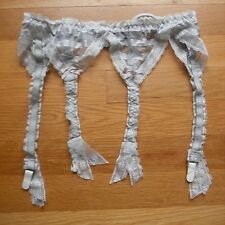 VTG Lily of France Lace Bow Sheer Garter Belt