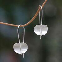 925 Plated Silver Wedding Jewelry Woman Earrings Dangle Drop Hook Eardrop Gift