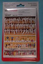 Preiser 16347 SET FIGURE IN INVERNO 65 miniatura non verniciate HO NUOVO