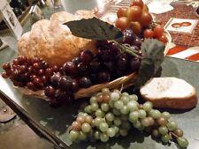Fake Grapes.lot.and bread