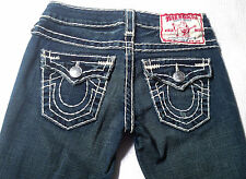 EUC- RRP $479- Womens Stunning True Religion Brand Stretch 'BILLY SUPER T' Jeans
