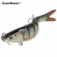 14cm Multi Jointed Fishing Lure Bait Swimbait Bass Life Like Minnow Lures Pike