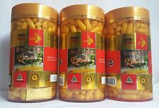 3 x Costar Royal Jelly 1610mg 6% 10-HDA 365 Capsules Australian Made