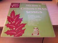Merry Christmas Songs 6905 Varsity Vinyl