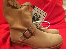 New With Box Frye Veronica Shortie Camel Women's Size 6 M