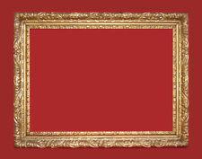 Geschnitzter Rahmen für Spiegel / Gemälde, vergoldet - 19. Jahrhundert  (# 4147)