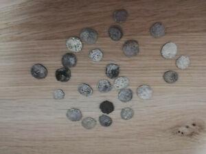 10 Ottomanische Münzen Silber Mittelalter ottoman