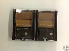 2 X MAYBELLINE MINERAL POWER BRONZING POWDER DUO ( BRONZE GLEAM #30 ) NEW.