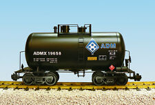 USA Trains G Scale Beer Can Tank Car R15208  ADM - Black