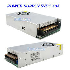 Super Stable Power supply unit 200W DC5V 40AMP S-200-5