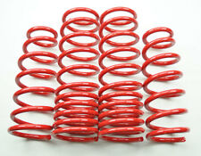 """0.6""""/0.7"""" Drop Red Suspension Lowering Springs Kit for Acura TL 04-08"""