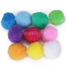 80 FELT BALLS FIBRE ART & NATURE TABLE/STORIESY Mixed colour 2CM Round