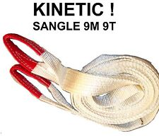 ENORME INDESTRUCTIBLE SANGLE KINETIC 9M 9T CAMION DEPANNEUR PATROUILLEUR FENWICK