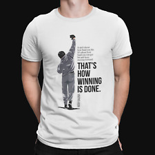 Rocky quote T-Shirt - Retro - Film - TV - Movie  -80s - Cool - Gift - Boxing