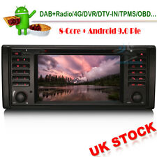 "7""Android 9.0 Radio GPS DAB Sat Nav BT CD Head Unit For BMW Range Rover L322 HSE"