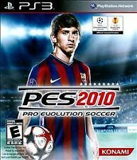 Pro Evolution Soccer 2010 PES Sony PlayStation 3 PS3 brand new