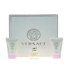 Versace pour Femme Mini Set for Women Miniature 5ml EDT+Shower Gel 25+Lotion 25