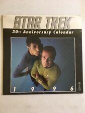 Star Trek:The Original Series 1996 30Th Anniversary Commemorative Calendar