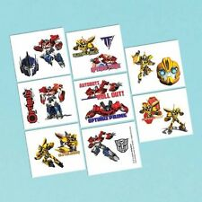 Amscan 394491 Transformers Tattoos Sheet Pack of 192