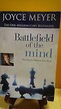Battlefield of the Mind : Winning the Battle in Your Mind by Joyce Meyer(B-101
