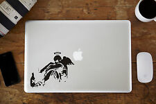 "Banksy cassé Angel macbook decal autocollant pour Apple MacBook Air / Pro 12 "" 13"" 15 """