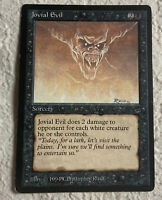 Jovial Evil PLD Legends 1994 Reserved List Mtg Magic the Gathering
