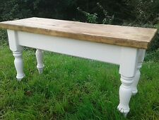 3 FT (environ 0.91 m) rustique pin Shabby Chic Bench