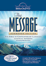 Bibles On DVD: The Message - Numbered Edition (DVD, 2008) NEW
