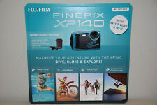 Fujifilm Finepix XP140 16.4MP Water Proof Camera w/ 64GB SD Card & Case Sky Blue