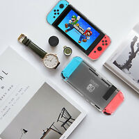 Dockable Protective Grip Case Back Protector Cover for Nintendo Switch Handheld