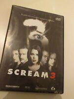 Dvd  SCREAM 3 el grito mas terrorifico siempre es el ultimo...
