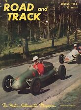 Road & Track August 1952 Rover 75, Hatch 500 cc 052417nonDBE