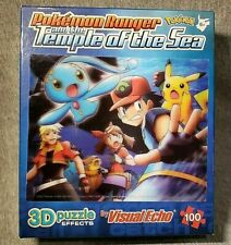 Pokemon Ranger and the Temple of the Sea Puzzle 3D Effect Visual Echo 100 pieces