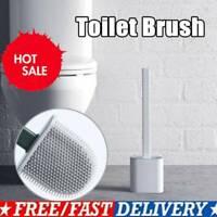 Silikon Toilettenbürste mit Klobürste Halter Klobürste WC Bürste Brush