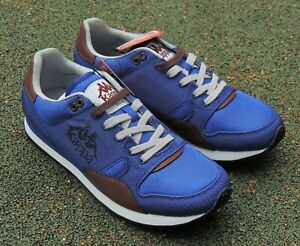 KAPPA  Authentic DORREN Blue Royal Trainers UK 8 New 302FWK0