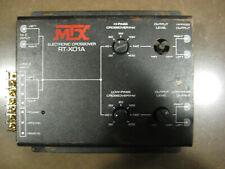 Mtx -Rt-X01A-2 Electronic Crossover 2 Way-Black-Vintage Car Audio Unit#2 L@K