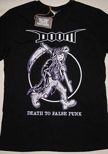 Doom - Death To False Punk ethical t-shirt (crust punk d-beat)