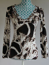 NWT Bluemarine Top blouse sweater I 40 d 34 US 6 Small Medium $580++