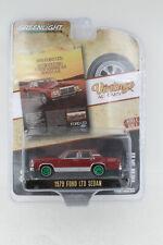 A.S.S NEU Ford LTD Sedan 1979 GreenLight 1/64 Vintage Ad Cars 4 2020 Chase Green