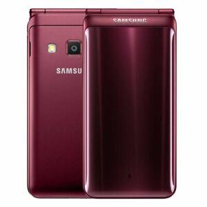 (Refurbished) Samsung Galaxy Folder 2 G1650 Dual Sim 16GB Smartphone 4G Mobile
