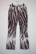 $600+ Bogner Rikka Ski ski pants women's size 8 (4) brown white used 1 time