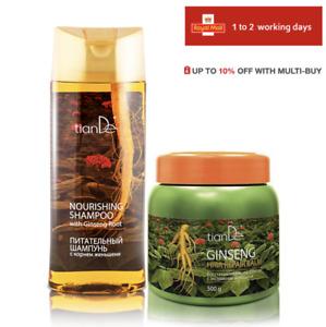 TianDe Nourishing Shampoo with REAL Ginseng Root & Ginseng Hair Repair Balm