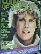 Country Hits of the 70's Magazine Spring 1980 Anne Murray/Buck Owens/Gene Watson