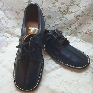 Vintage Womens Charmers Lace Up Shoes Blue Size 10 Unworn