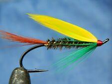 Classic flies for Atlantic salmon fly fishing - Pompier fly pattern