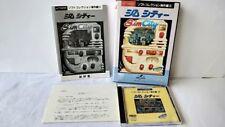 SIM CITY Fujitsu FM TOWNS simulation Game Boxed set/Japan Ver. tested -a517-