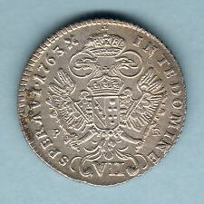 New listing Austria. 1763-Pr 7 Kreuzer. Ef/gEf