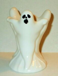 Yankee Candle Halloween Small Glowing Ceramic Ghost Votive Holder New